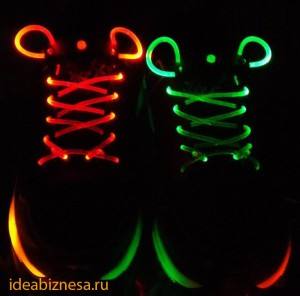 Шнурки светящиеся ideabiznesa.ru