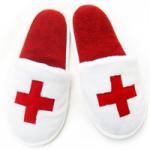 Тапочки для медсестры